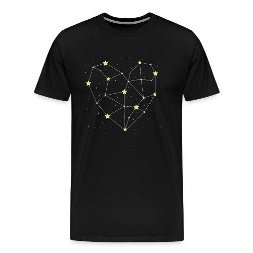 Heart in the Stars - Men's Premium T-Shirt