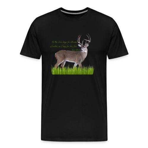 As the Deer - Men's Premium T-Shirt