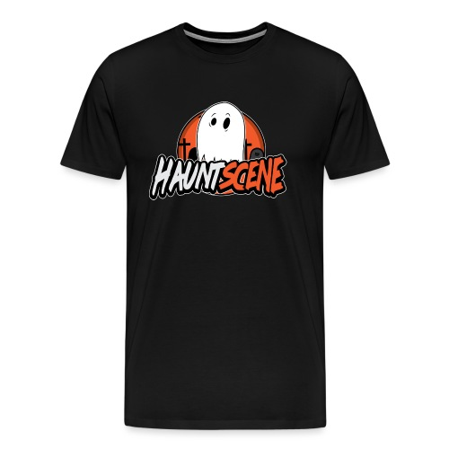 HauntScene Modern Logo 2020 - Men's Premium T-Shirt