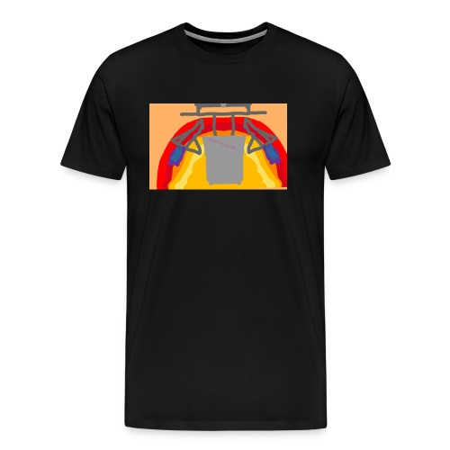 Awesome sunset - Men's Premium T-Shirt