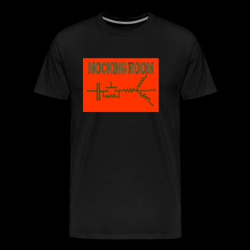 BID RED CAMO - Men's Premium T-Shirt