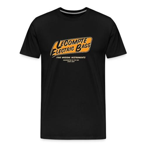 LeCompte Electric Bass Old School - Men's Premium T-Shirt