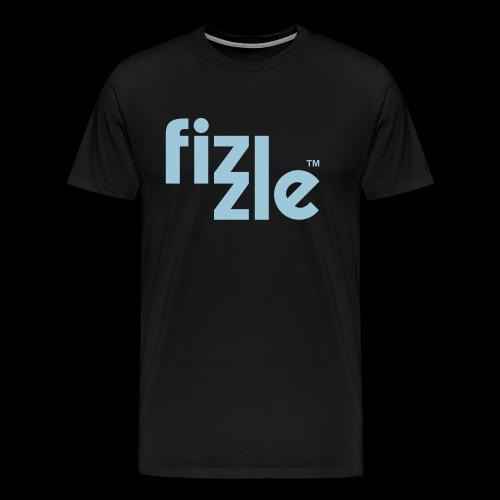 WearFizzle Logo Blue - Men's Premium T-Shirt