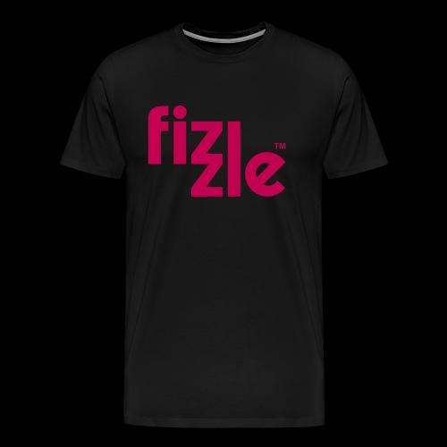 WearFizzle Logo Magenta - Men's Premium T-Shirt
