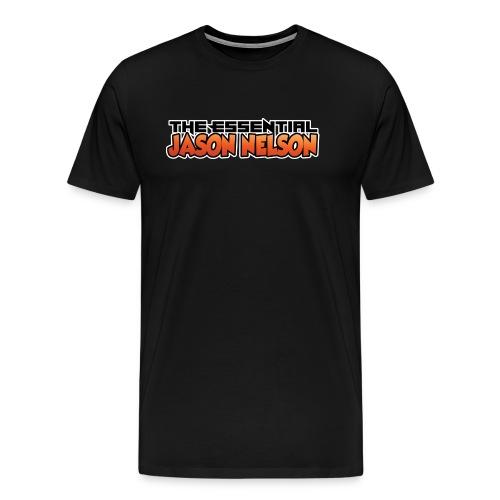 Text Logo - Men's Premium T-Shirt
