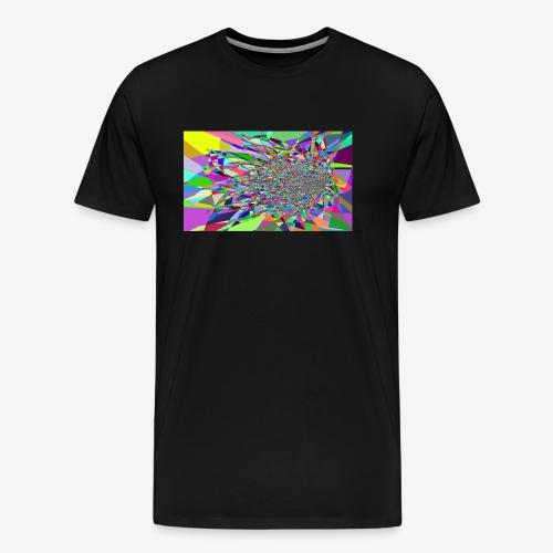 Modern Art Polygon - Men's Premium T-Shirt