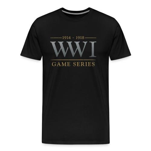 WW1 Game Series Logo - Men's Premium T-Shirt