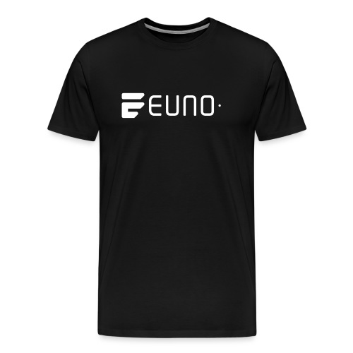 EUNO LOGO LANDSCAPE WHITE - Men's Premium T-Shirt