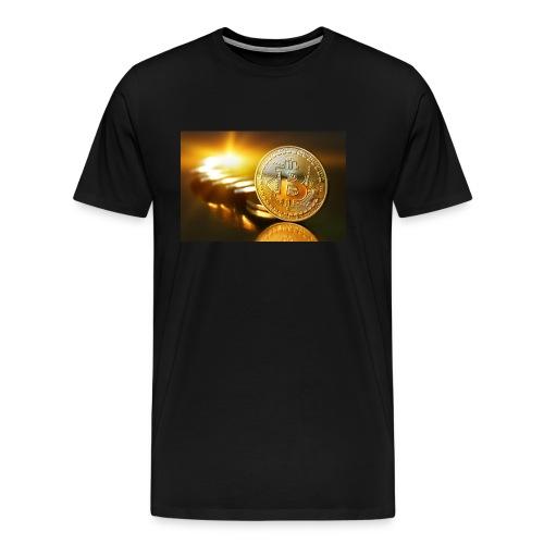 Bitcoin #1 - Men's Premium T-Shirt
