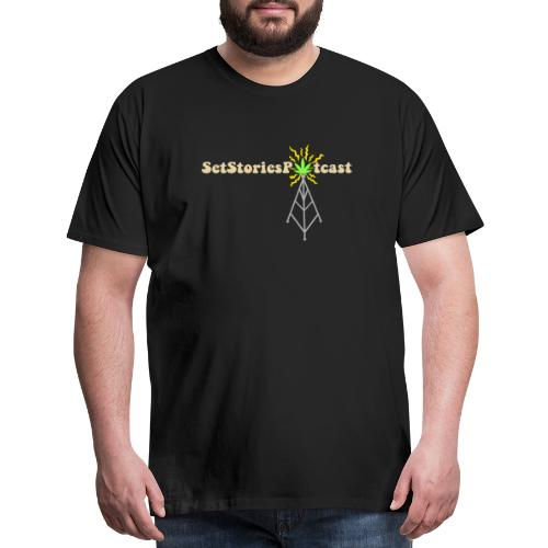 Potcast T Shirt Season 3 BLK - Men's Premium T-Shirt