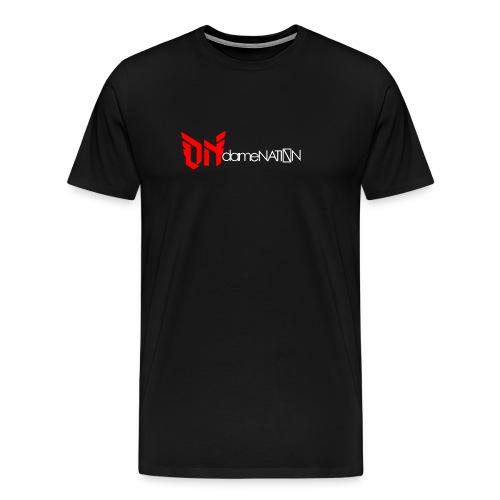 dameNATION black/red/white - Men's Premium T-Shirt