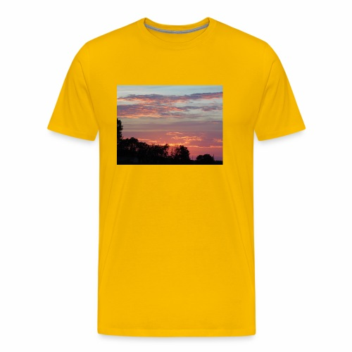 Sunset of Pastels - Men's Premium T-Shirt