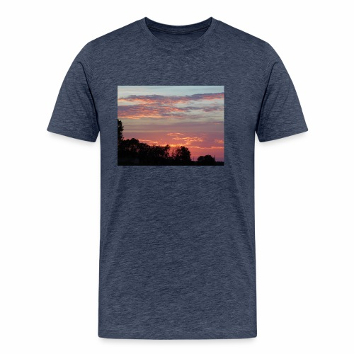 Sunset of Pastels - Men's Premium T-Shirt