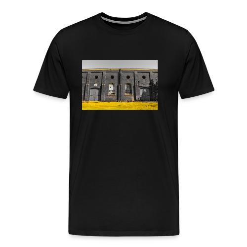 Bricks: who worked here - Men's Premium T-Shirt