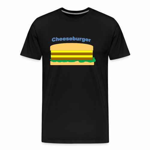 cheeseburger - Men's Premium T-Shirt