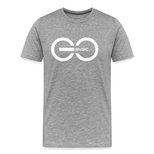 GOMusic logo - Men's Premium T-Shirt