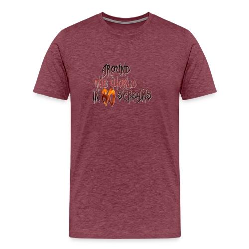 Around The World in 80 Screams - Men's Premium T-Shirt