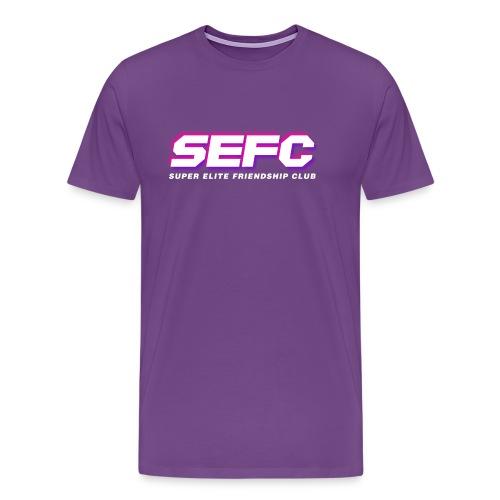 Super Elite Friendship Club Logo Vapor v2 - Men's Premium T-Shirt