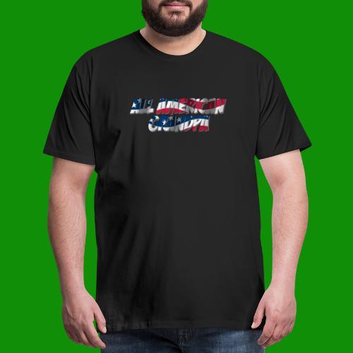 ALL AMERICAN GRANDPA - Men's Premium T-Shirt