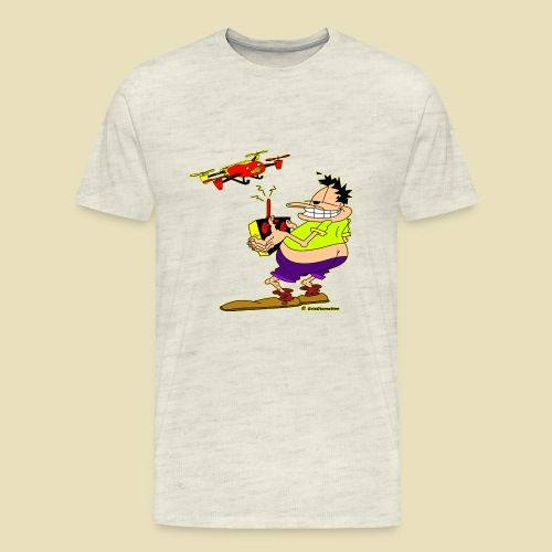 GrisDismation Ongher Droning Out Tshirt - Men's Premium T-Shirt