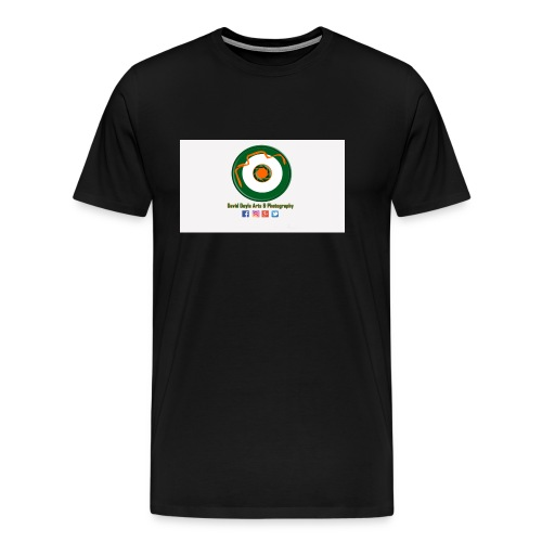 David Doyle Arts & Photography Logo - Men's Premium T-Shirt