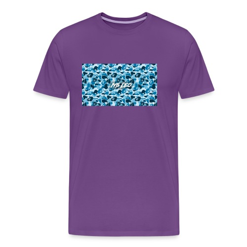 Iyb leo bape logo - Men's Premium T-Shirt