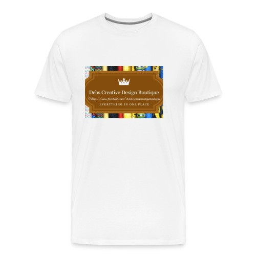 Debs Creative Design Boutique with site - Men's Premium T-Shirt