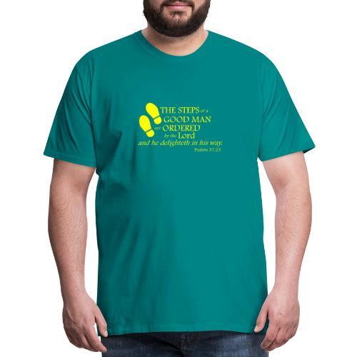 Psalm 37:23 - Men's Premium T-Shirt