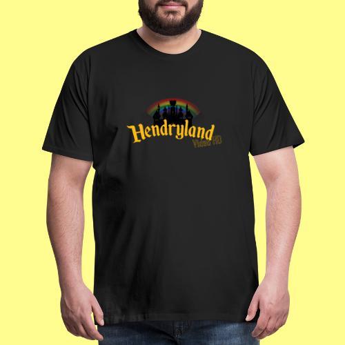 HENDRYLAND logo Merch - Men's Premium T-Shirt