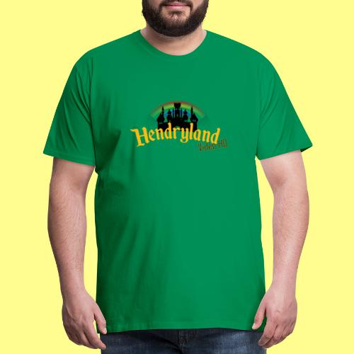 HENDRYLAND logo Merch - Men's Premium T-Shirt