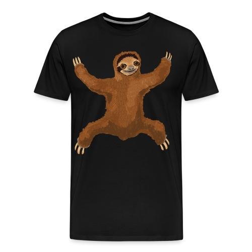 Sloth Love Hug - Men's Premium T-Shirt