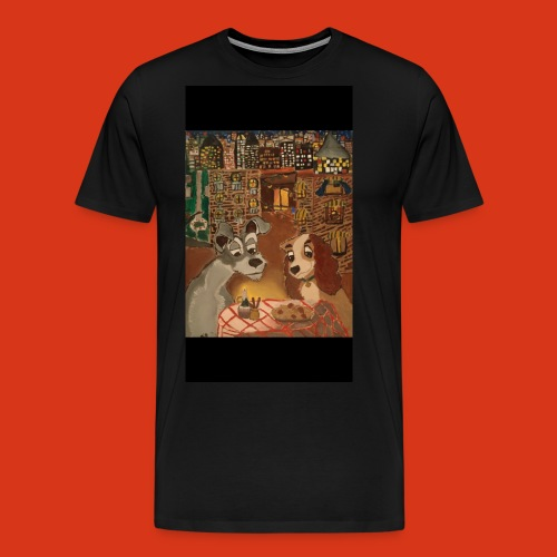 Lady and the tramp - Men's Premium T-Shirt