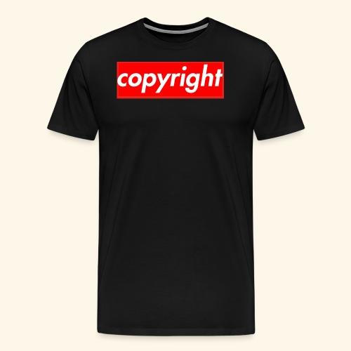 copyright - Men's Premium T-Shirt