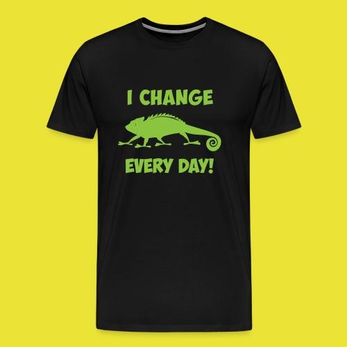 Change Clothes - Men's Premium T-Shirt