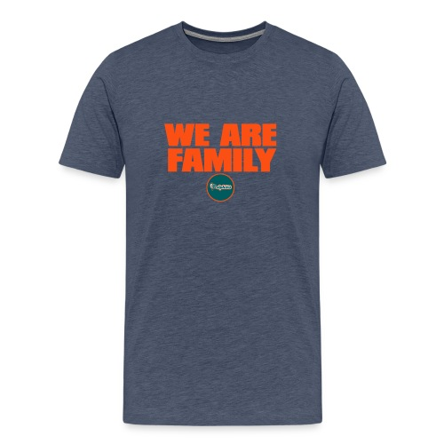 we are family dolphins - Men's Premium T-Shirt