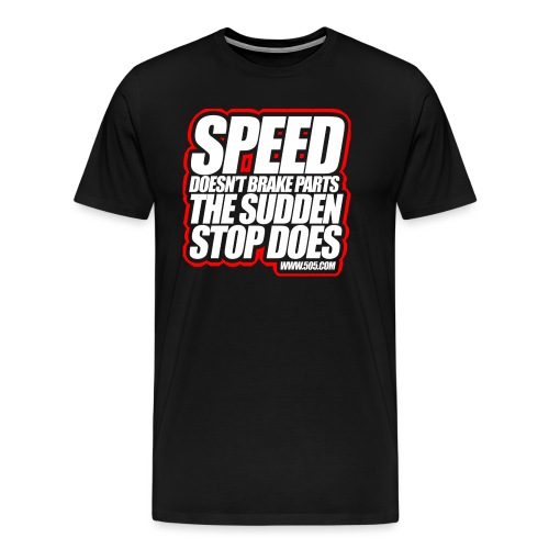 Speed png - Men's Premium T-Shirt