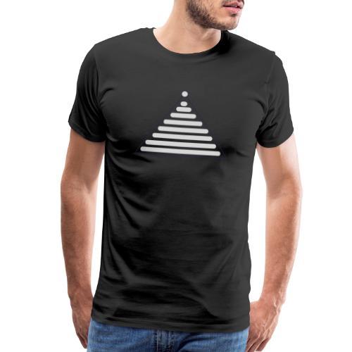 grey christmas - Men's Premium T-Shirt