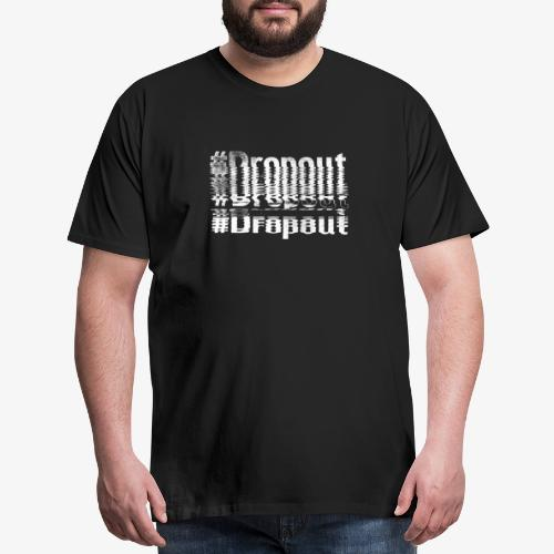 signal intrusion white - Men's Premium T-Shirt