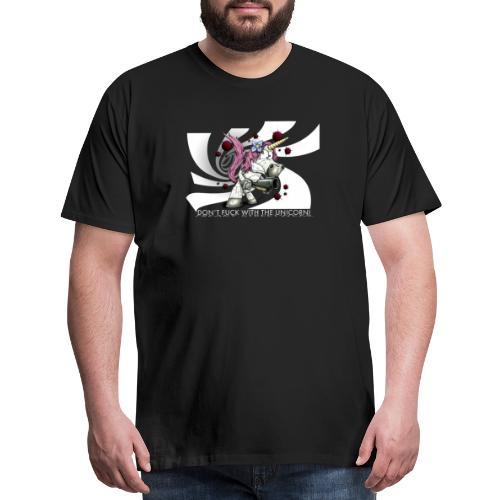 don't fuck with the unicorn - Men's Premium T-Shirt