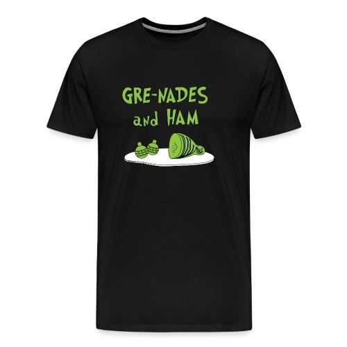 Gre-nades and Ham - Men's Premium T-Shirt