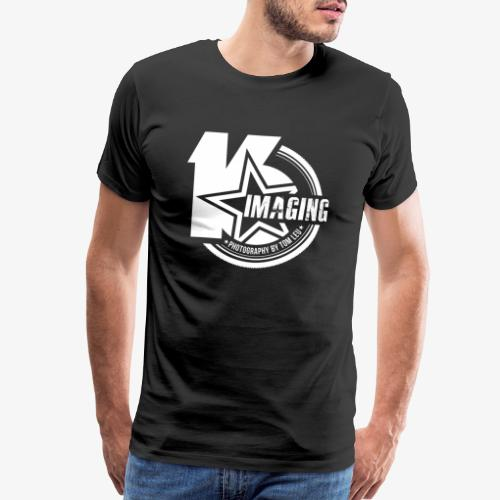 16IMAGING Badge White - Men's Premium T-Shirt
