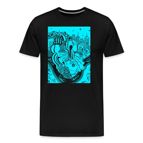 Louisiana River Nights - Men's Premium T-Shirt