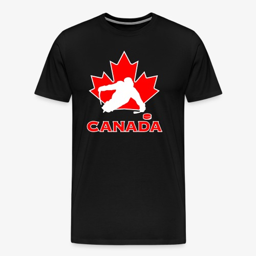 Premium Canada Sledge Hockey - Men's Premium T-Shirt