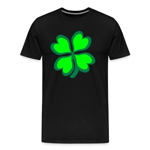 4 leaf clover - Men's Premium T-Shirt
