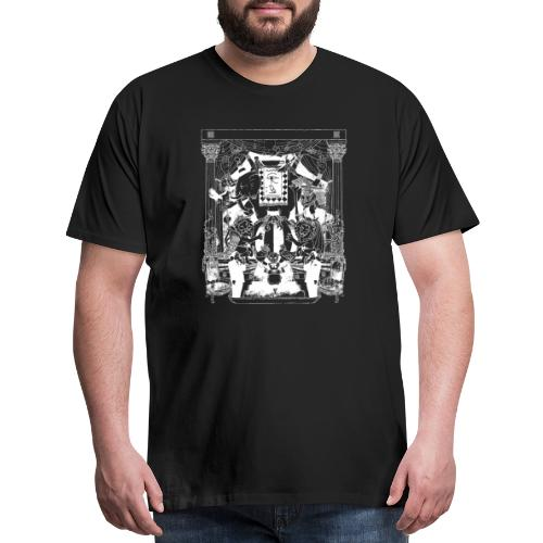 black chai tee white - Men's Premium T-Shirt