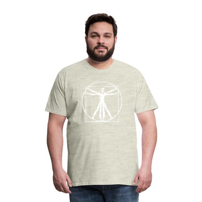 Da Vinci Vitruvian Alien Man