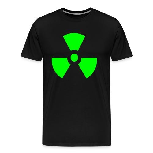 Radiation Symbol - Men's Premium T-Shirt