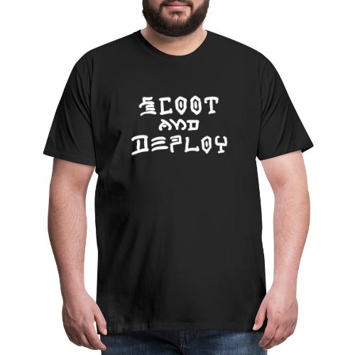 Scoot and Deploy - Men's Premium T-Shirt
