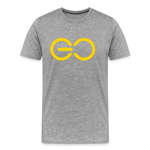 GO logo big - Men's Premium T-Shirt