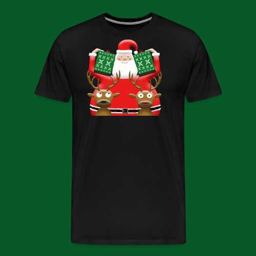What's wrong with Rudolph? - Men's Premium T-Shirt